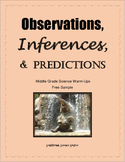 Observations, Inferences & Predictions in Science