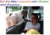Observations & Inferences (Scientific Method) - Lesson Plan, Presentation, more