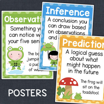 Observe and Infer and Predict Activities