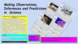 Observations, Inferences and Predictions  in  Science Digital Virtual Sheets