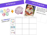 Observations, Opinions, Inferences Lesson and Notes