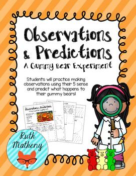 Observations & Predictions: A Gummy Bear Experiment - VA S