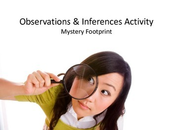 Observation and Inference Science Class Activity
