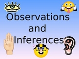 Observations and Inferences Activity