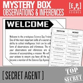 Observations and Inferences Card Sort and Mystery Boxes