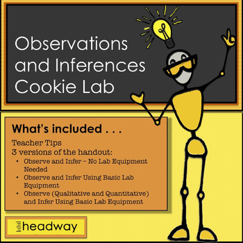 Observations and Inferences Cookie Lab