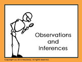 Observations and Inferences Introductory PowerPoint