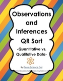 Observations and Inferences QR Sort