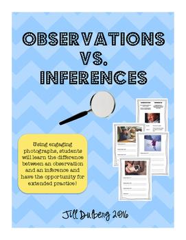 Observations vs. Inferences
