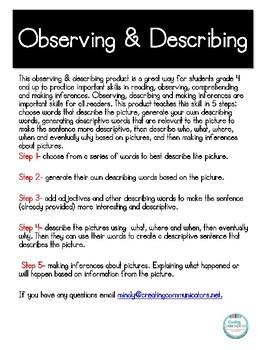 Observing & Describing