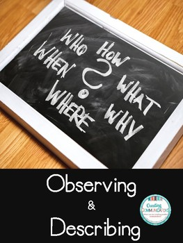 Observing & Describing