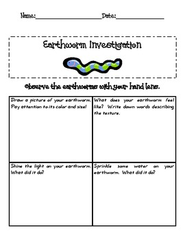 Observing Earthworms