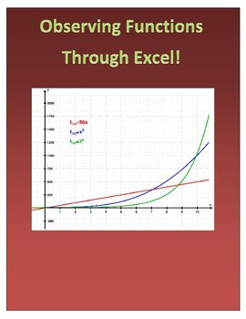 Observing Linear, Quadratic, and Exponential Functions Through Excel