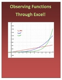 Observing Linear, Quadratic, and Exponential Functions Thr