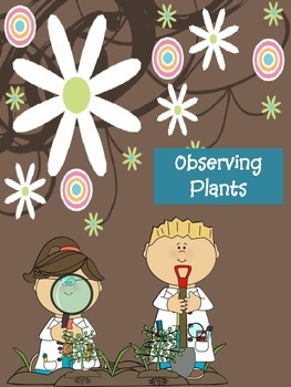 Observing Plants Lab Sheets
