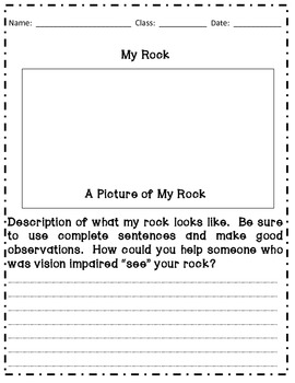 Observing Properties of Rocks - Gr 4/5/6