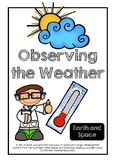 Observing the Weather - Earth and Space Unit of Work