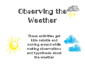 Observing the Weather Outside