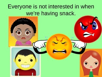 Social Story: Obsessing on a Topic [Snack] for young adults with Autism