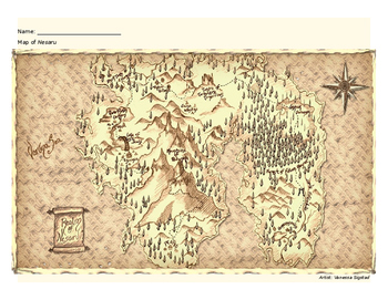 Obstaclēs - Map of the Realm of Nesaru
