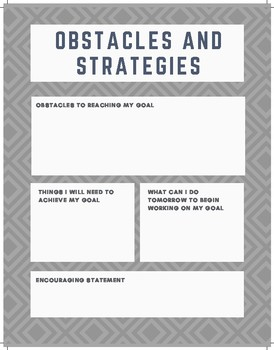 Obstacles and Strategies