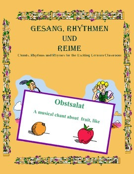 "German Musical Chant About Fruit, ""to Like"" Expressions - Obstsalat"