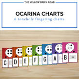 Ocarina Fingering Charts for 6 toneholes
