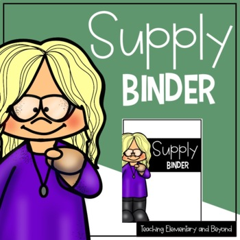 Occasional Teacher Binder {Editable}