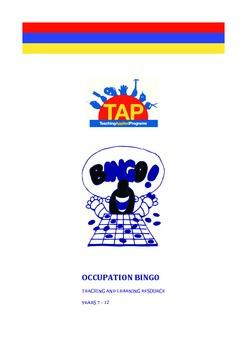 Occupation Bingo