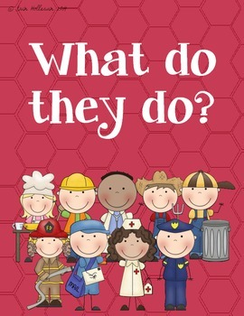 Occupation Booklet - Community Helpers and Job Tasks