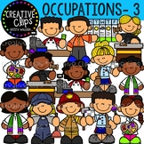 Occupation Clipart 3 {Creative Clips Clipart}