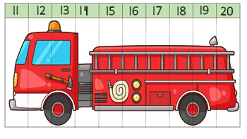 Occupation Counting Number Puzzles 1 to 20