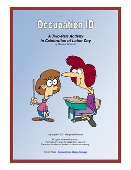 Labor Day Occupation ID--A Two-Part Activity