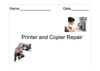 Occupation Lesson: Printer Repair