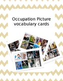 Occupation Picture Cards (real pictures, vocabulary, speec