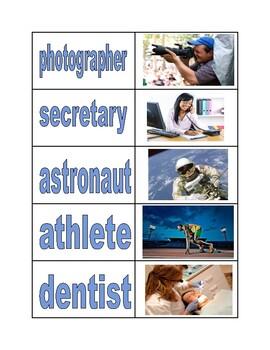 Occupation Sort Cards