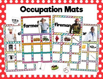 Occupation Sorting Mats