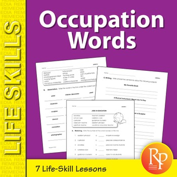 Occupation Words