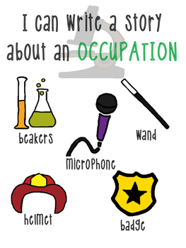 Occupation Writing Station