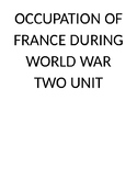Occupation of France IPA and Unit Resources