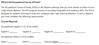 Occupational Course of Study: Credit Manager