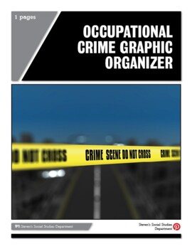 Occupational Crime Graphic Organizer