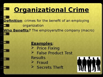 Occupational Crime PPT