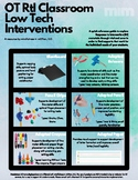 Occupational Therapist Response to Intervention Classroom