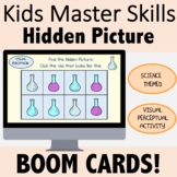 Occupational Therapy BOOM CARDS for Teletherapy: Science T