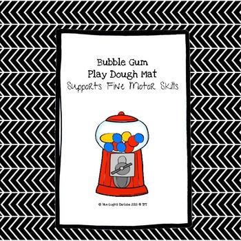 (Freeibe) Occupational Therapy: Bubble Gum Play Dough Mat