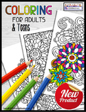 Occupational Therapy COLORING PRINTABLES for Teens and Adults