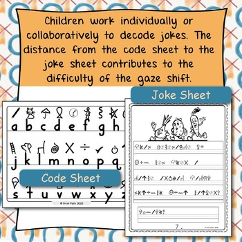 Occupational Therapy DeCoding Jokes: Handwriting, Perception, Executive Function