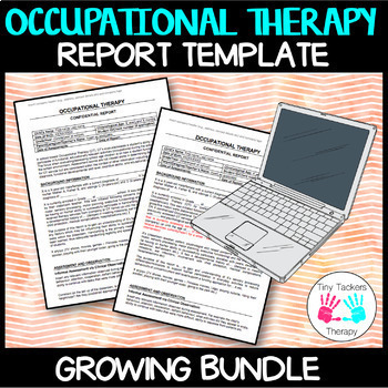 Occupational Therapy: Editable Report Template
