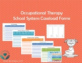 Occupational Therapy School System Forms